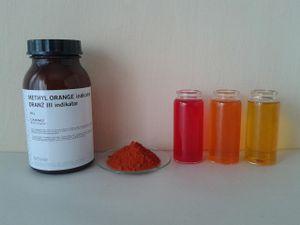 Methyl Orange Sample Solution