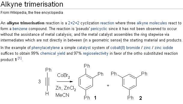 Alkyne trimerization.jpg - 47kB