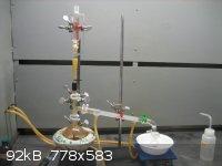 dripping ethanol into boiling HI.JPG - 92kB