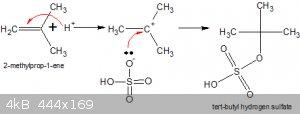 Sulphonation of methyl propene.gif - 4kB
