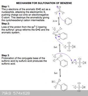 sulphonation of benzene.png - 79kB