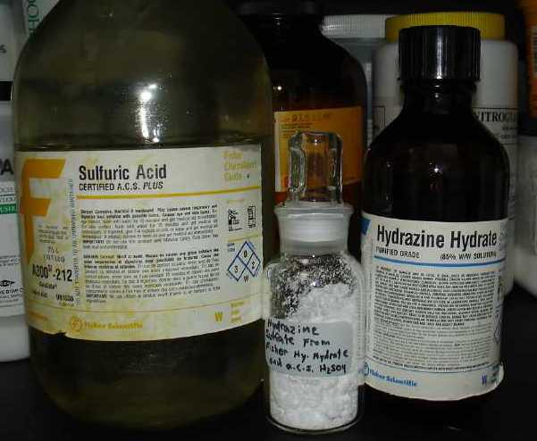 Sciencemadness Discussion Board - Hydrazine - Powered by ...