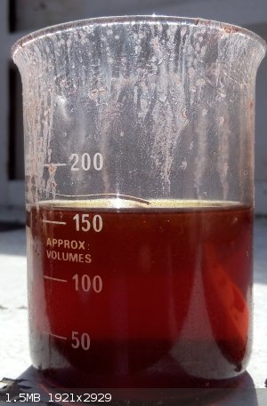 Sciencemadness Discussion Board - Red solution from gold