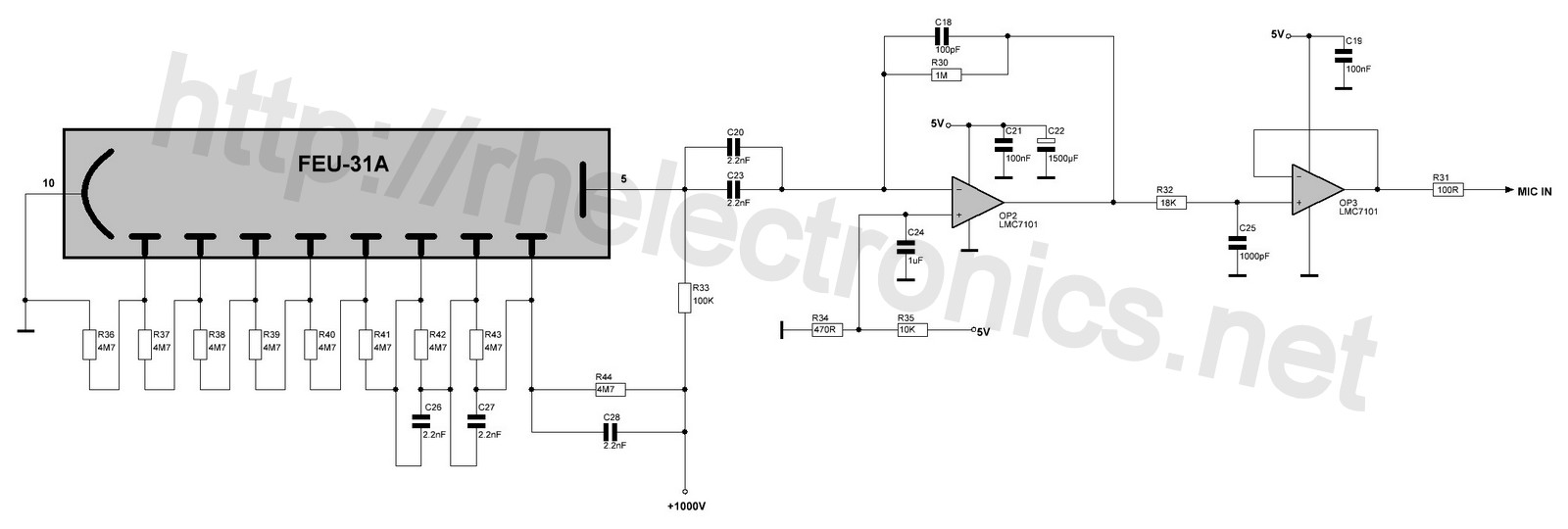 Sciencemadness Discussion Board Recommendations For Geiger Counter Charge Amplifier Circuit Feu 31 Divider Pulse Electrical