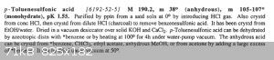 Purification of p-Toluenesulfonic Acid - Armarego and Chai.PNG - 71kB