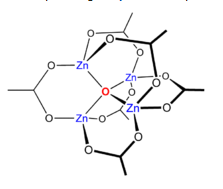 Zn4O(CH3CO2)6.PNG - 10kB